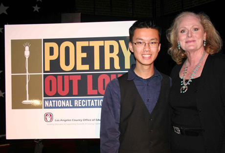 Teens Stand and Deliver at 2012 Poetry Contest
