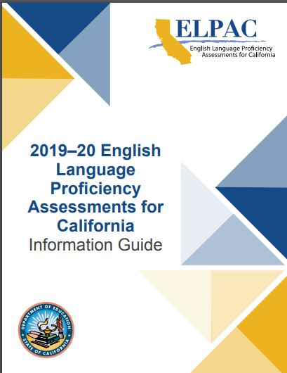 2019-20 ELPAC Information Guide