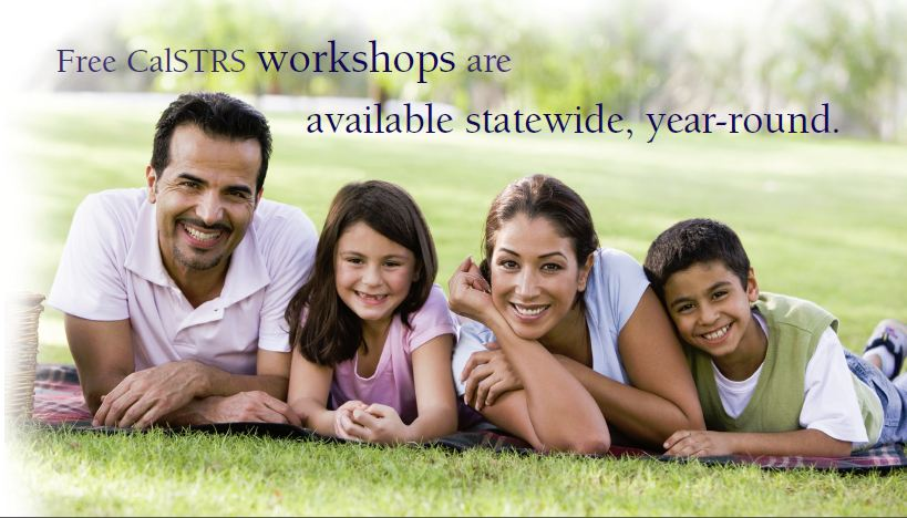 STRS Plan Your Retirement Workshop Info