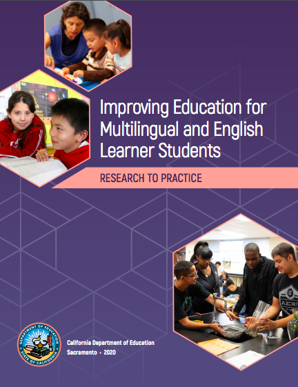NEW! Improving Education for Multilingual English Learner Students-a CDE Resource