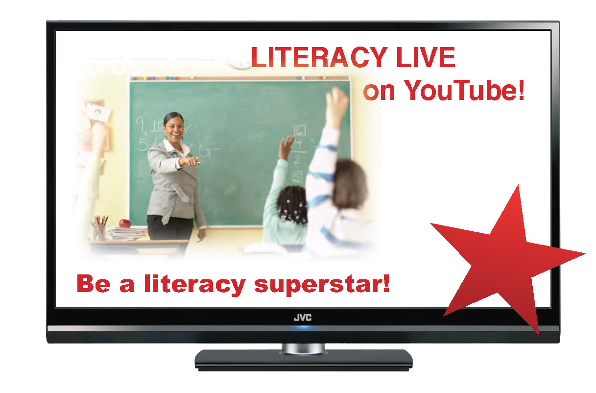 Literacy Live on YouTube!