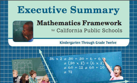 Executive Summary of the Ca. Math Framework