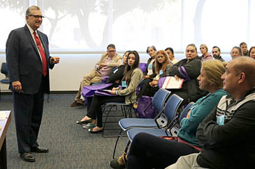 Parents join to overcome adversity