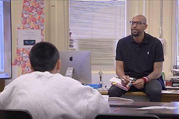 Court Schools featured on PBS