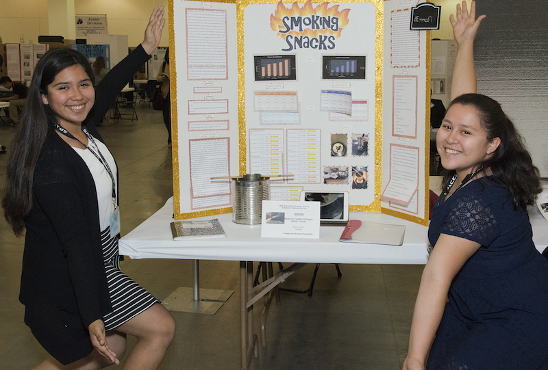 Science Fair makes learning fun
