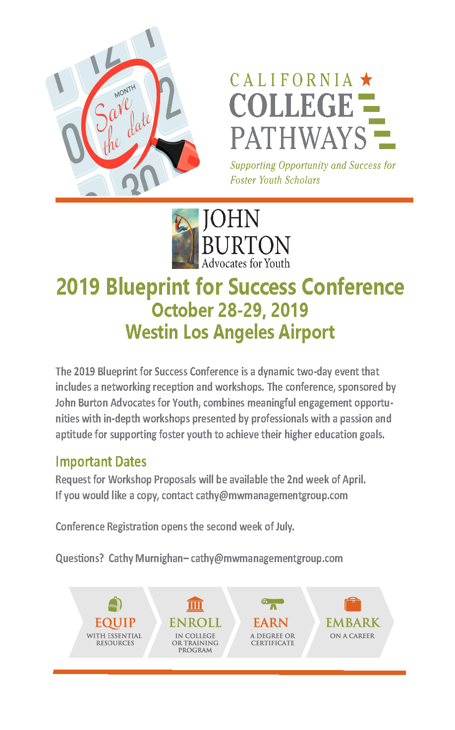 2019 Blueprint for Success Conference