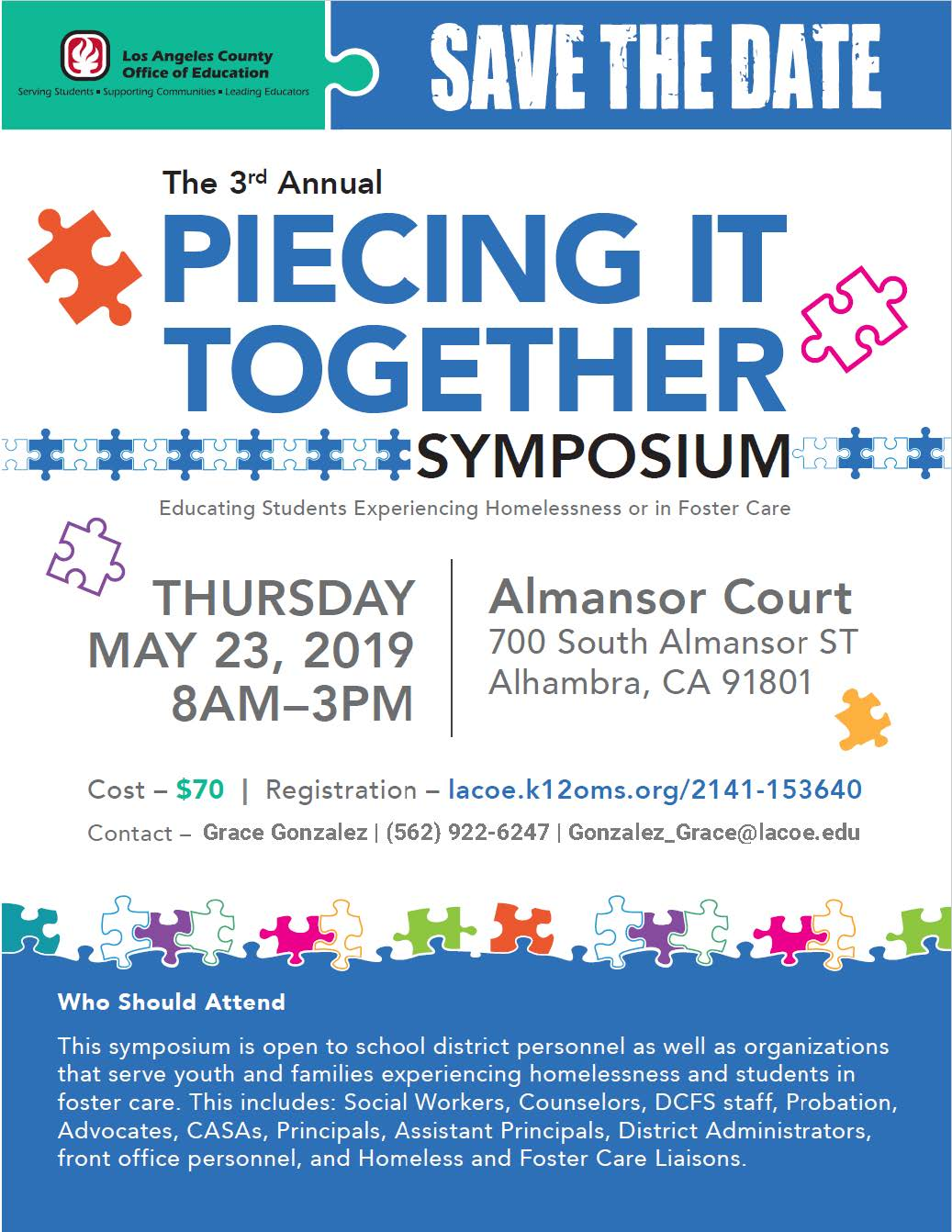 3rd Annual Piecing it Together Symposium