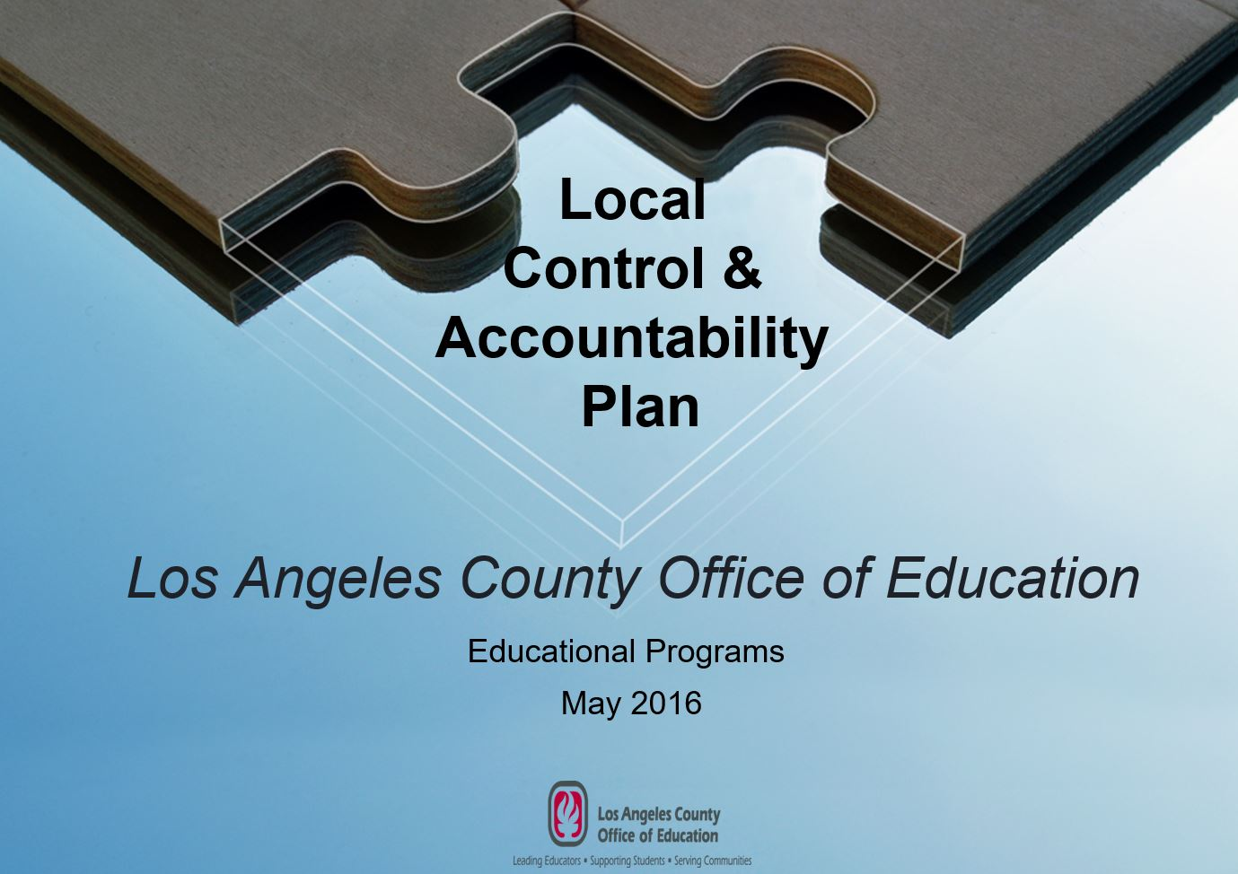 LACOE Schools LCAP Annual update for Parents (English)