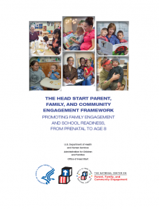 Parent, Family, Community Engagement Framework