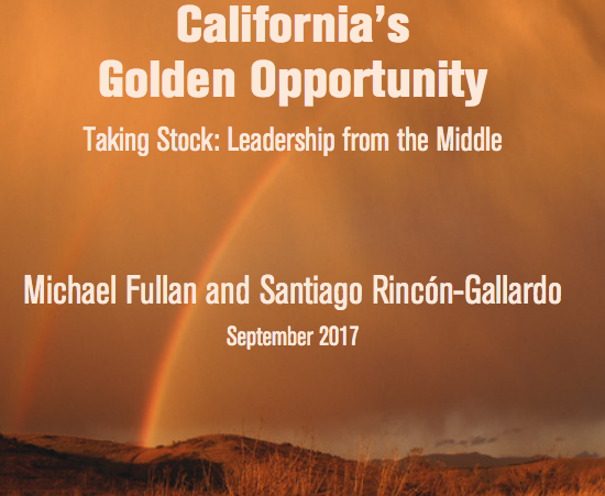 The Golden Opportunity by Michael Fullan