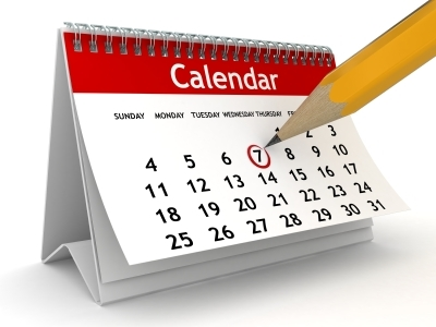 Calendar of SFP Meeting and Workshop Dates