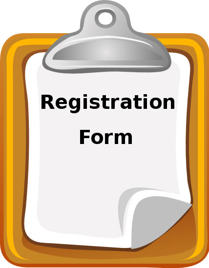 <br /><br />Registration Forms...