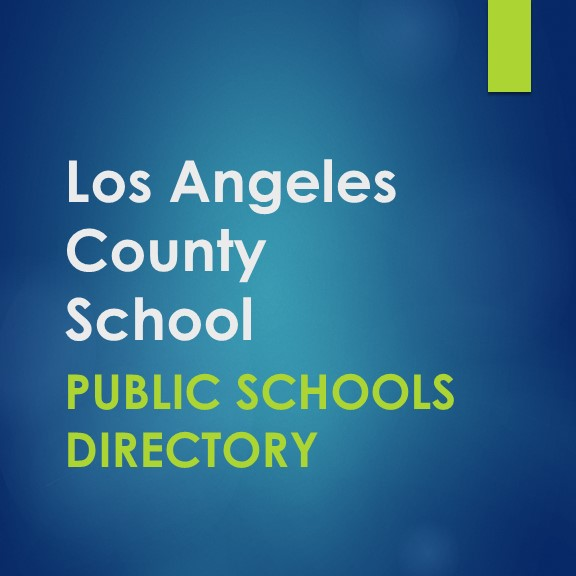 Public School District Directory