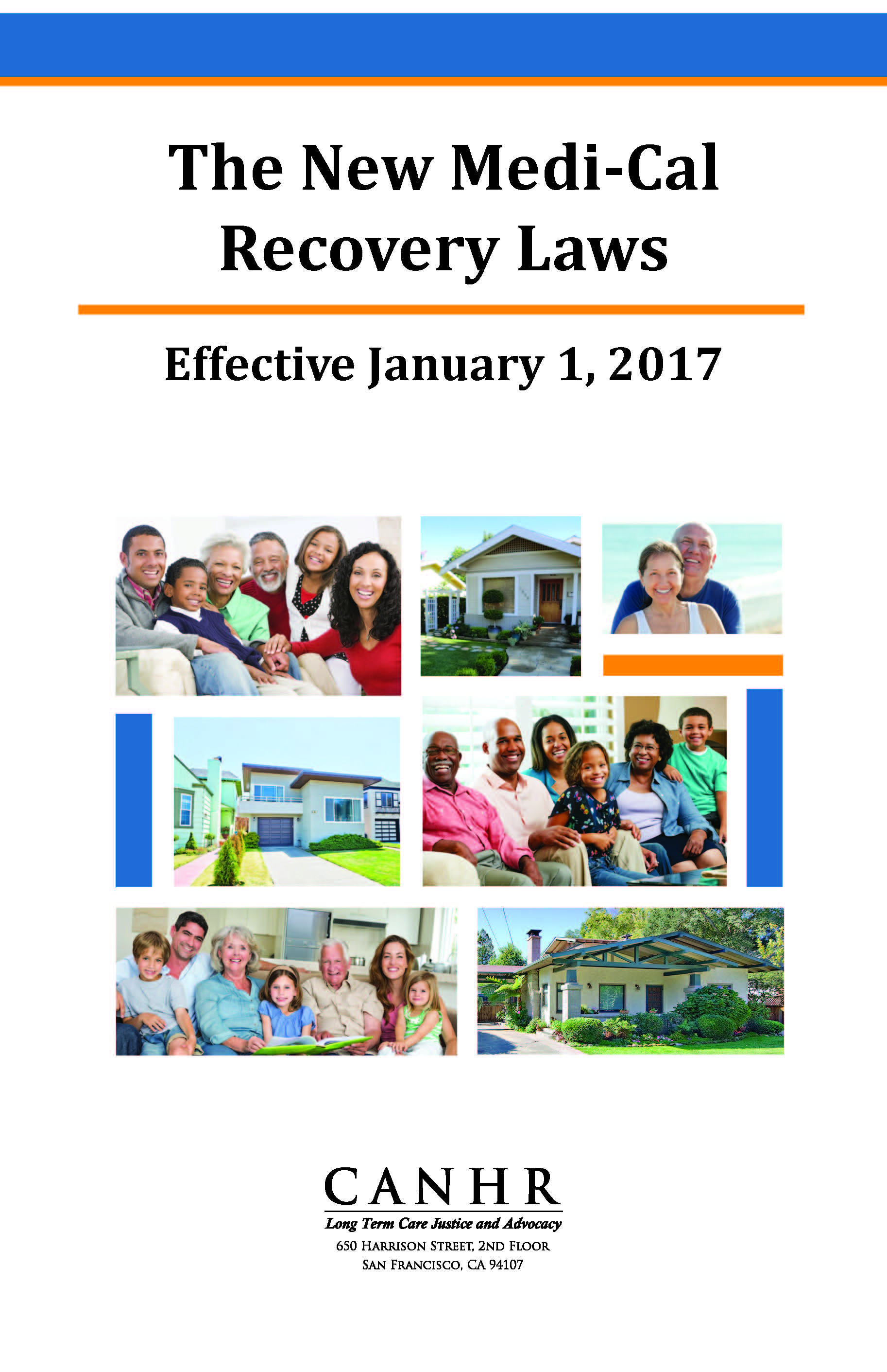 Medi-Cal Recovery  2017 Changes