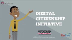 LACOE leads the way for Digital Citizenship