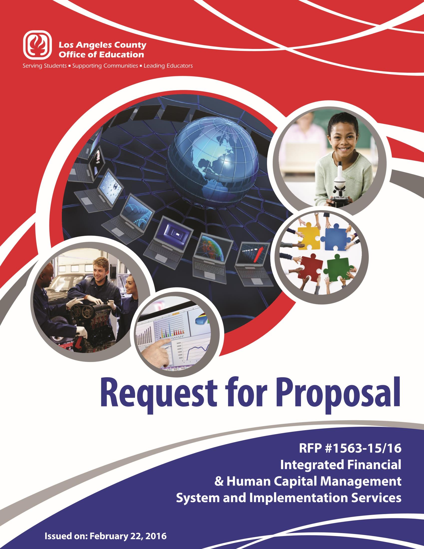 RFP #1563-15/16 Integrated Financial & Human Capital Management System and Implementation Services