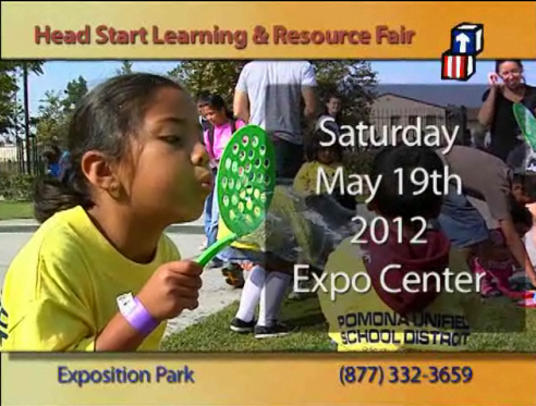 Head Start Learning and Resource Fair 2012 (English)